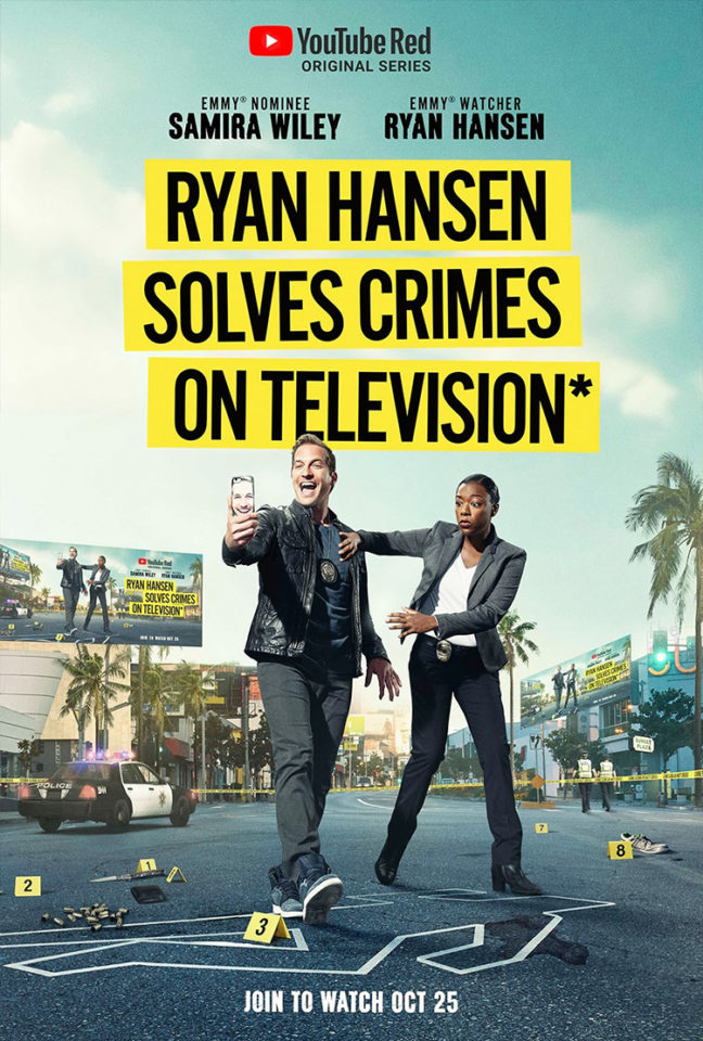 Ryan Hansen Solves Crimes on TV